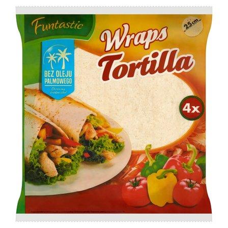 FUNTASTIC Wraps Tortilla 25cm 4szt. (1)