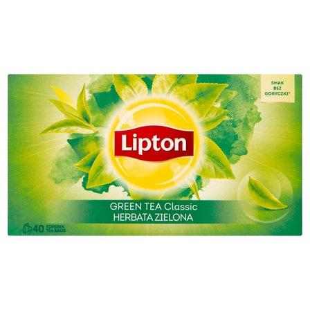 LIPTON Classic Herbata zielona (40 tb.) (2)