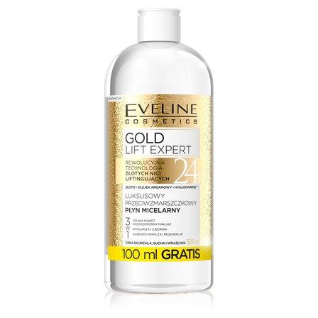 EVELINE Gold Lift Expert Luksusowy przeciwzmarszczkowy płyn micelarny (1)