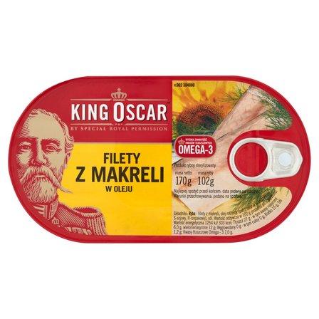 KING OSCAR Filety z makreli w oleju (2)