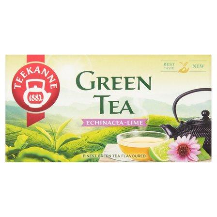 TEEKANNE Herbata zielona z herbatką owocową ziołową o smaku limonki (20 tb.) (3)