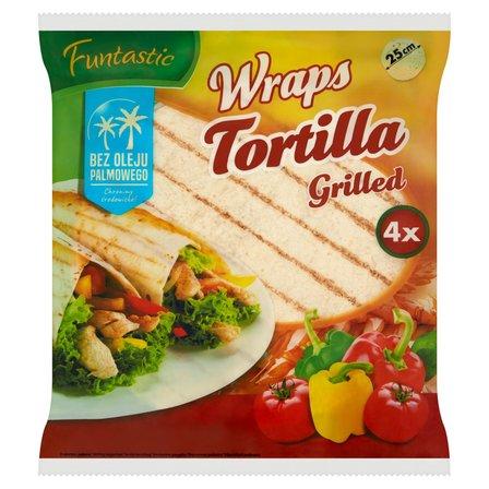 FUNTASTIC Wraps Tortilla Grilled 4szt. (1)