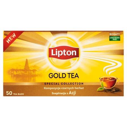 LIPTON Gold Herbata czarna (50 tb.) (2)