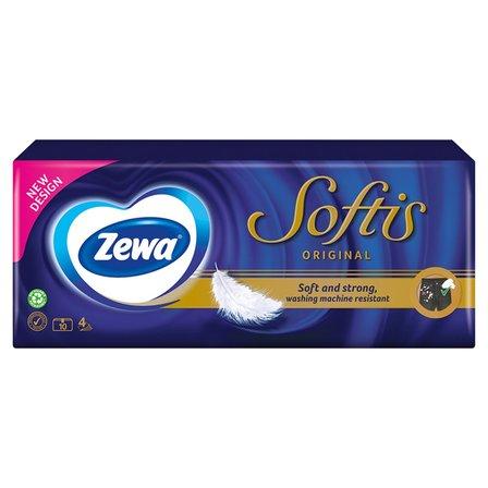 ZEWA Softis Chusteczki higieniczne (10 x 9 szt.) (1)