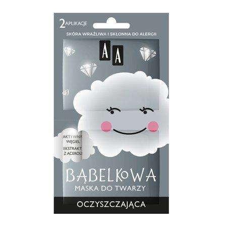 AA Chmurka Bąbelkowa maska do twarzy oczyszczająca (1)