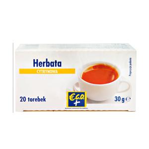 ECO+ Herbata czarna o smaku cytrynowym (20 tb.) (1)