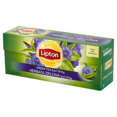 LIPTON Earl Grey Herbata zielona (25 tb.) (1)