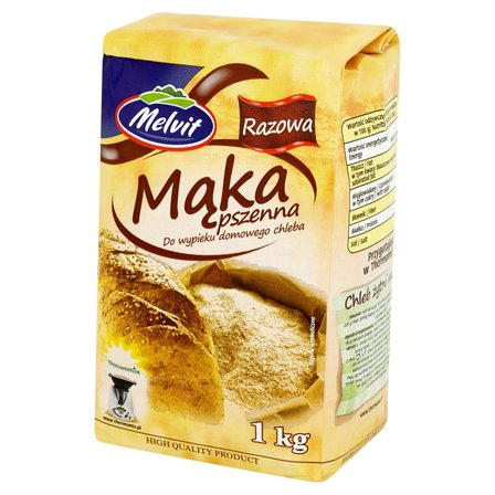 MELVIT Mąka pszenna razowa do wypieku domowego chleba (1)