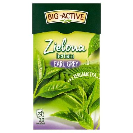 BIG-ACTIVE Zielona herbata Earl Grey z bergamotką (20 tb.) (2)