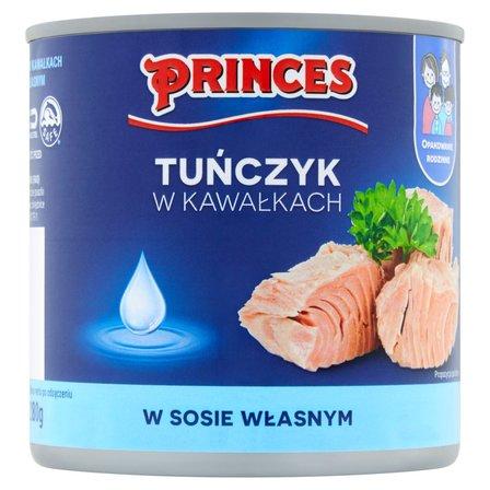 PRINCES Tuńczyk w kawałkach w sosie własnym (2)