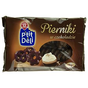 WIODĄCA MARKA P'tit Deli Pierniki w czekoladzie (1)