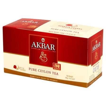 AKBAR Pure Ceylon Herbata czarna (50 tb.) (1)