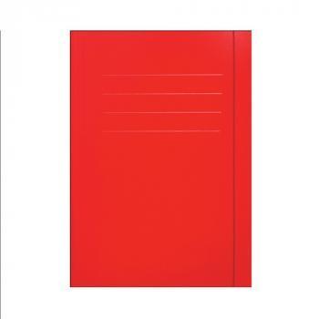 €.C.O.+  Teczka z gumką czerwona A4 1szt (1)