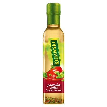KUJAWSKI Olej rzepakowy z pierwszego tłoczenia z papryką ostrą pomidorami i bazylią (1)