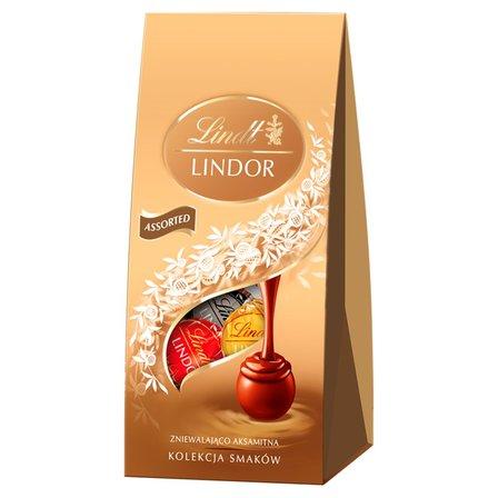 Lindt Lindor Kolekcja smaków Pralinki czekoladowe z nadzieniem (1)