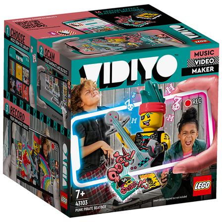 LEGO VIDIYO Punk Pirate BeatBox 43103 (7+) (1)