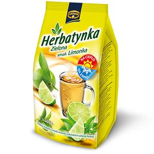 KRUGER Herbatynka zielona smak limonka Napój herbaciany instant (1)