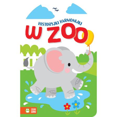 ZIELONA SOWA W zoo. Historyjki harmonijki (okładka twarda) (1)