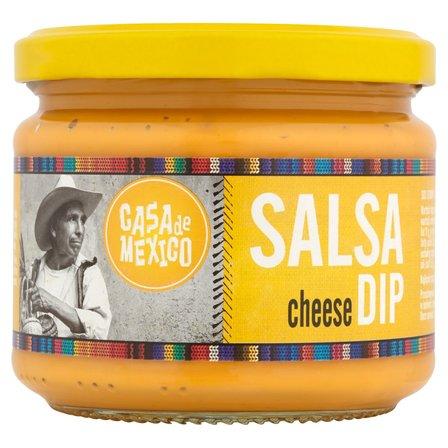 CASA DE MEXICO Salsa Cheese Dip (4)