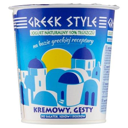 GREEK STYLE Jogurt naturalny 10% tłuszczu (2)