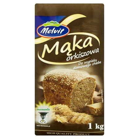 MELVIT Mąka orkiszowa do wypieku domowego chleba (2)