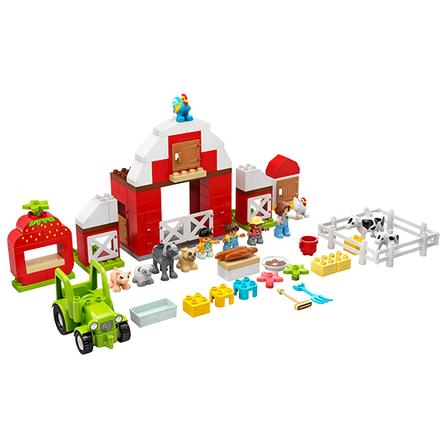 LEGO Duplo Stodoła traktor i zwierzęta gospodarskie (2+) (2)