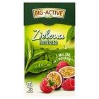 BIG-ACTIVE Herbata zielona z maliną z marakują (20 tb.) (2)
