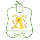 CANPOL BABIES  Śliniak plastikowy miękki 6m+ (3)