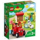 LEGO Duplo Traktor i zwierzęta gospodarskie 10950 (2+) (1)