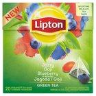 LIPTON o smaku Jagoda i Goji Herbata zielona aromatyzowana (20 tb.) (2)