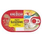 KING OSCAR Filety śledziowe w oleju z octem i cebulą (2)