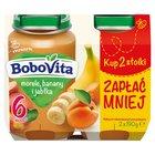 BOBOVITA Morele banany i jabłka po 6. m-cu (2 x 190 g) (2)