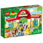 LEGO Duplo Stadnina i kucyki 10951 (2+) (1)