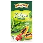 BIG-ACTIVE Zielona herbata papaja i jagody goji (20 tb.) (2)