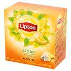 LIPTON Herbata czarna aromatyzowana cytryna (20 tb.) (1)
