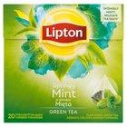 LIPTON o smaku Mięta Herbata zielona aromatyzowana (20 tb.) (2)